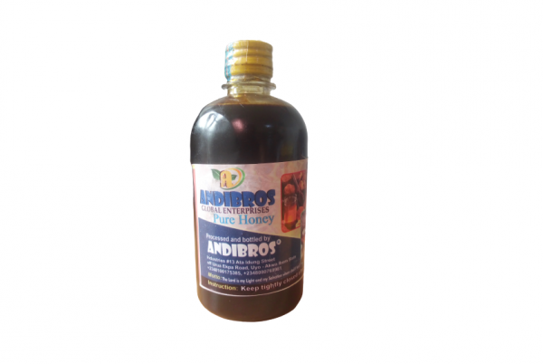 ANDIBROS HONEY Small Bottle. 500ml