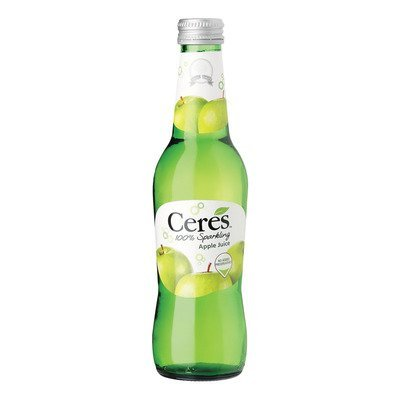 CERES 100SPARKLING APPLE JUICE 275ML