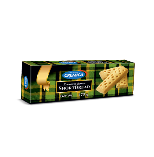 Cremica ShortBread Biscuits.170gm
