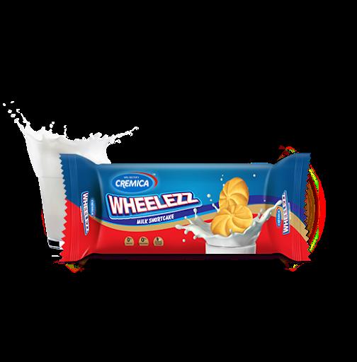 Cremica Wheelezz Milk ShortBread Biscuit. 80gm
