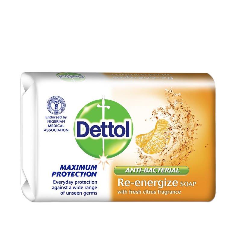 DETTOL RE ENERGIZE CITRUS SOAP 120G