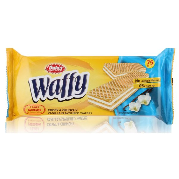 Duke waffy vanilla wafer