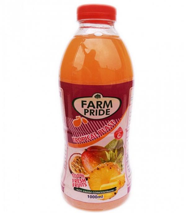 FARM PRIDE TROPICAL BLAST DRINK 1000ML