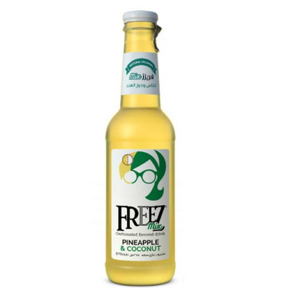 FREEZ MIX CARBONATED FLAVORED DRINK PINEAPPLE COCONUT 275ML