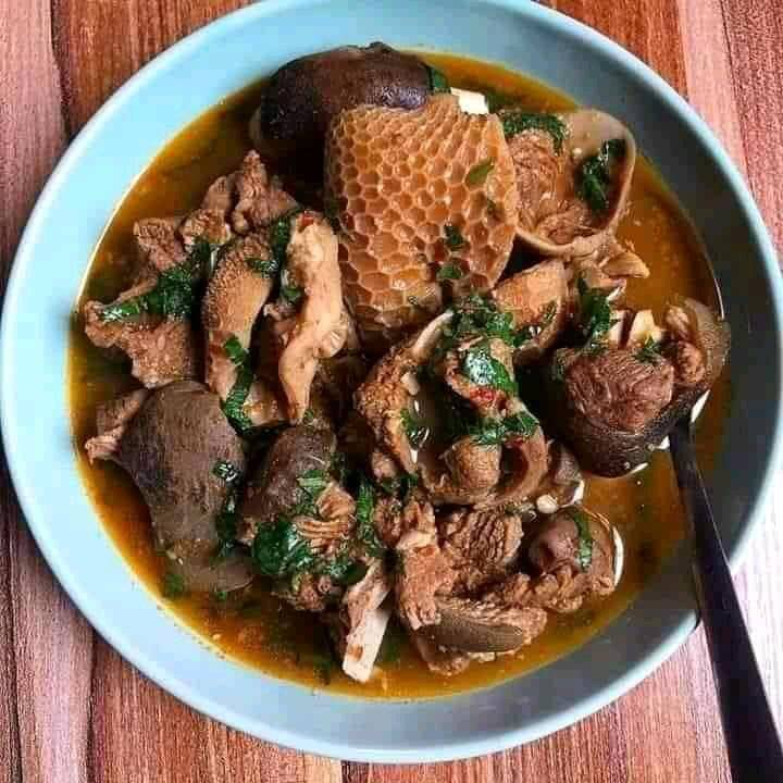 Goat meat pepper soup
