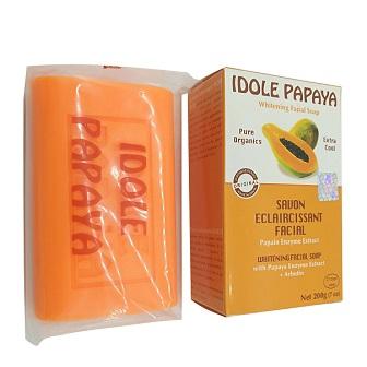 Idole Papaya Whitening Facial Soap.200g