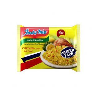 Indomie Instant Noodles Super Pack Chicken Flavour 120g