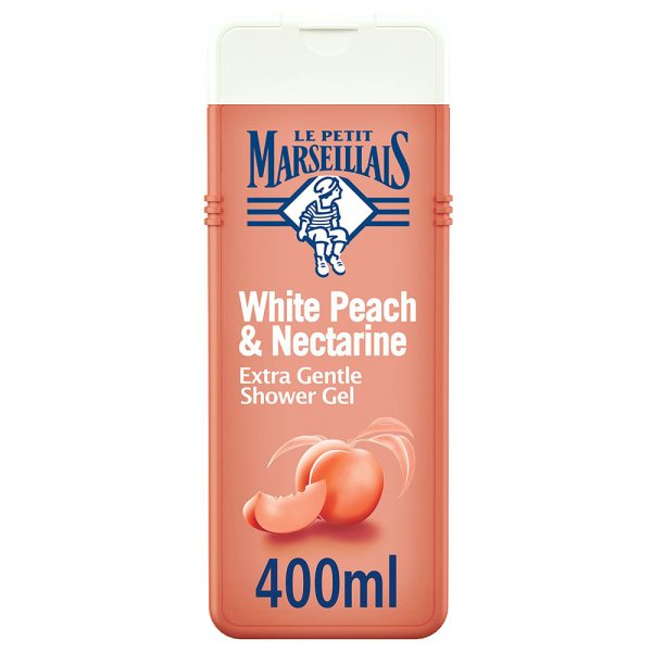 Le Petit Marseillais Extra Gentle Shower Gel White Peach Nectarine Body Wash