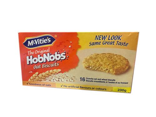 McVities HobNobs Oat Biscuits. 200g