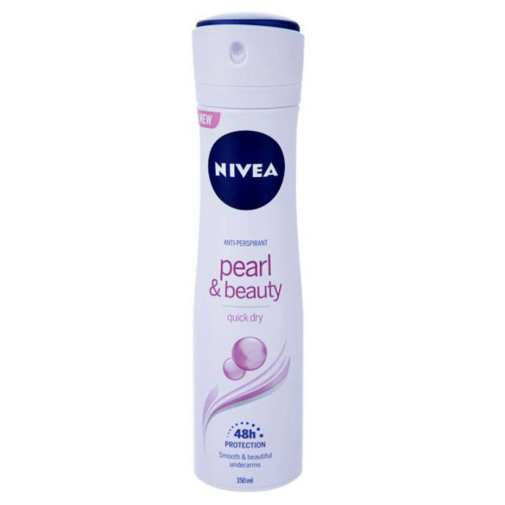 Nivea Dry Comfort pearl and beauty Spray 150m