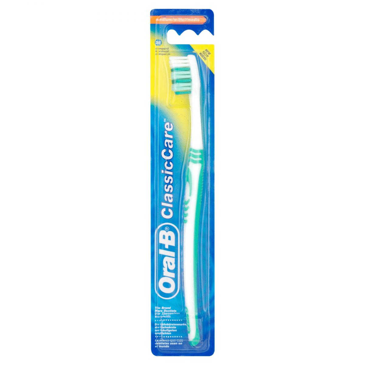 Oral B 1.2.3 ClassicToothBrush. Medium