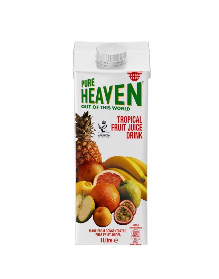 PURE HEAVEN TROPICAL FRUIT JUICE 1L