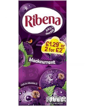 RIBENA BLACKCURRANT JUICE 1L