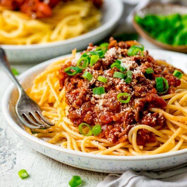 Spaghetti Bolognese square