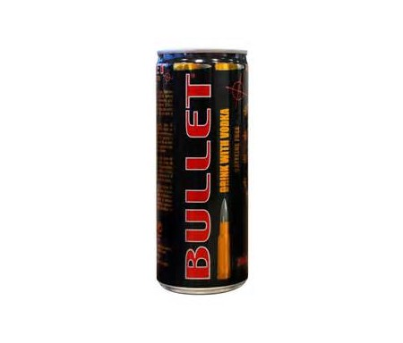 bullet drink with volka 250ml