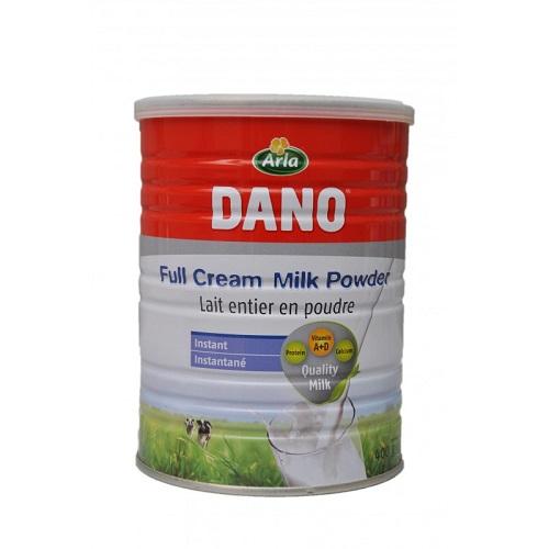 dano full cream milk powder tin 400g