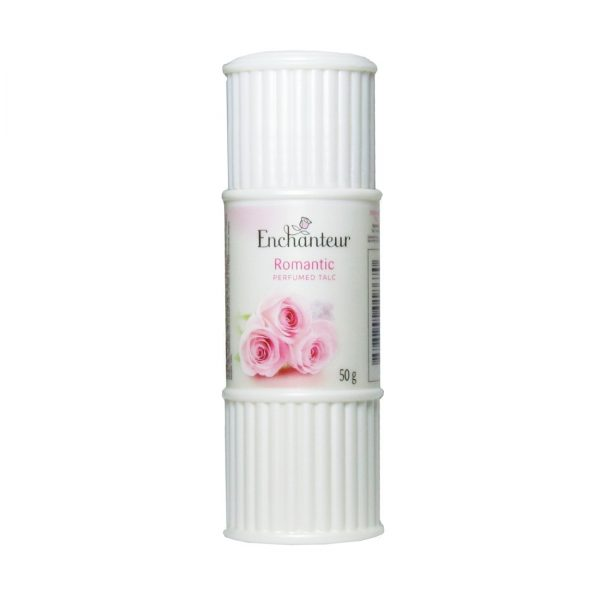 enchanteur romantic perfumed talc 50g