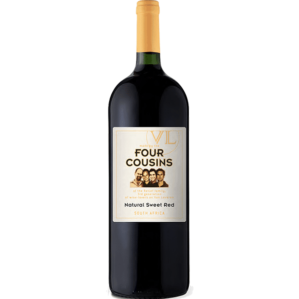 four cousins red
