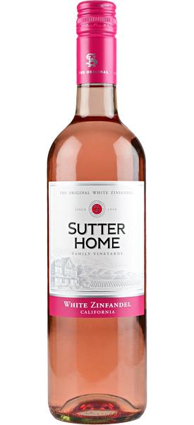 sutter home white zinfandel blush rose