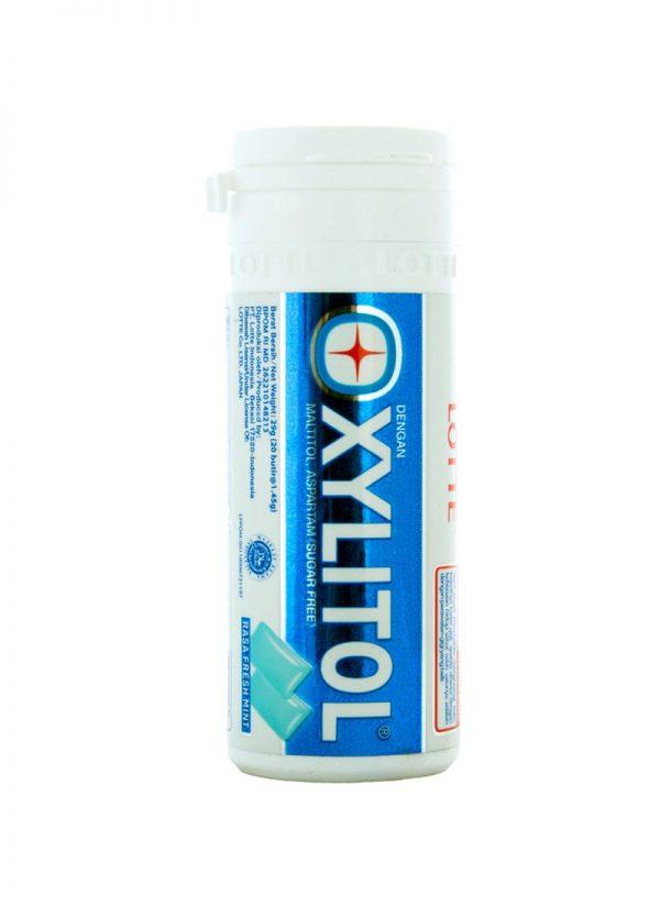 xylitol gum rasa fresh mint 30g 1