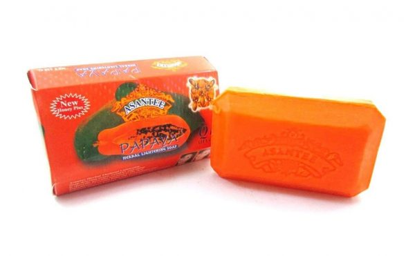 Asantee Papaya Herbal Ligthening Soap