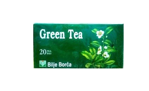 Bilje Borca Green Tea