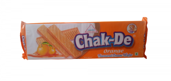 Chak De Orange Cream Wafer