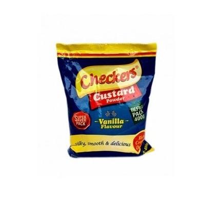 Checkers Custard Powder Vanilla Flavour Super Saver Pack 400g