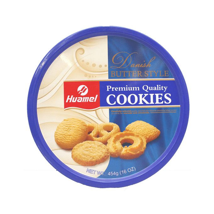Danish Butter Style Cookies 454g