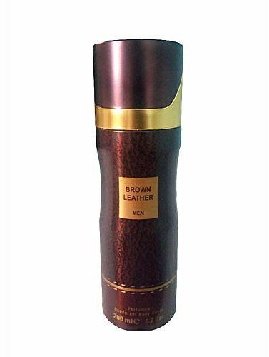 Explore Brown Leather Body Spray 200ml