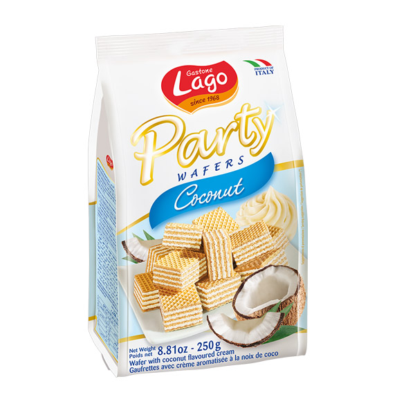 Gastone Lago Party Coconut Wafers 250g