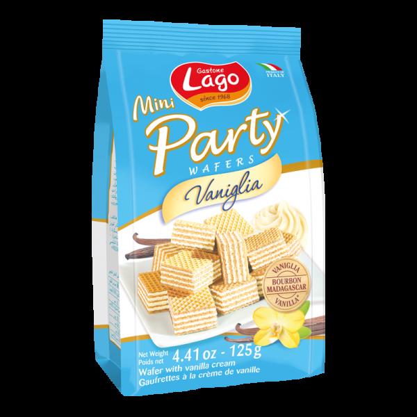 Gastone lago mini party wafers vaniglia