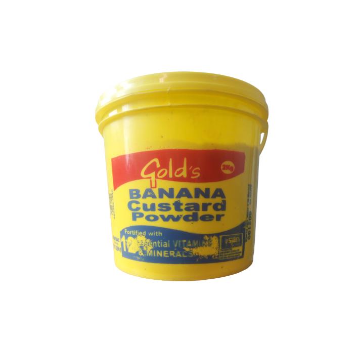Gold's Banana Custard Powder