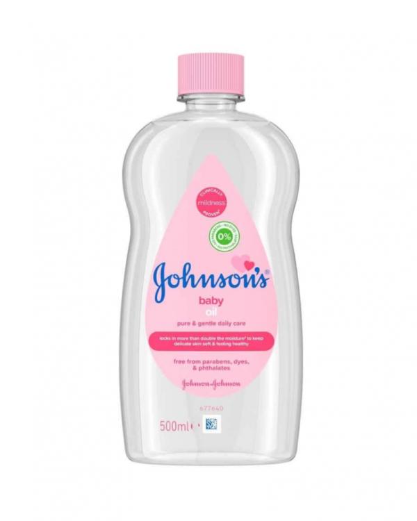 Johnson's Baby Oil 500ml