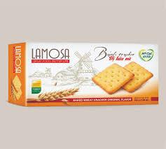 LAMOSA Original Baked Wheat Cracker 200g.
