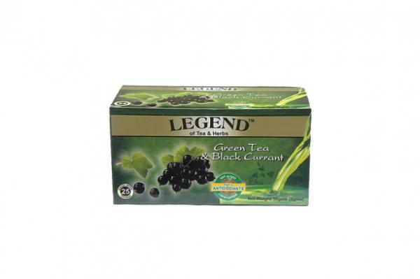 Legend Tea & Herbs Grean Tea & Black Currant