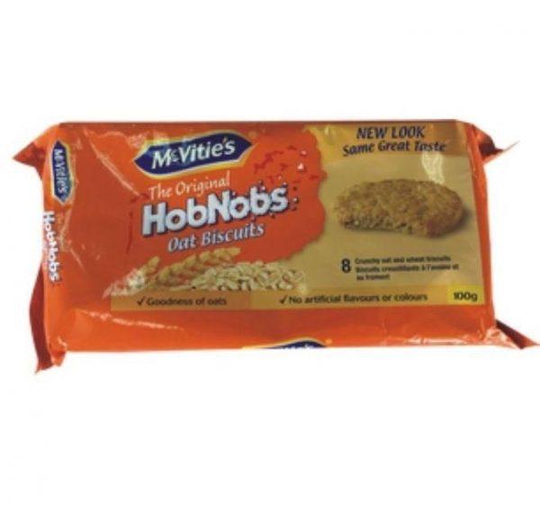 McVities HobNobs Oat Biscuits. 100g
