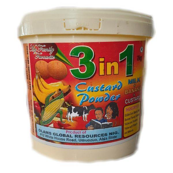 Olams Global 3 in 1 Custard Powder