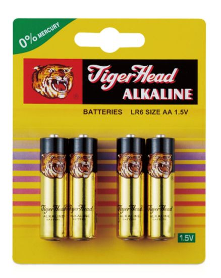 TigerHead AA Alkaline Battery Pack