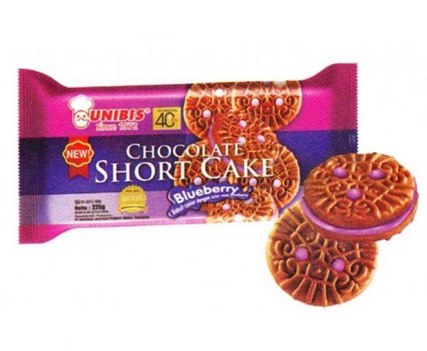UNIBIS CHOCOLATE SHORT CAKE BLUEBERRY