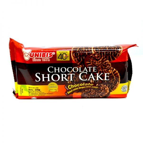 UNIBIS CHOCOLATE SHORT CAKE - CHOCOLATE