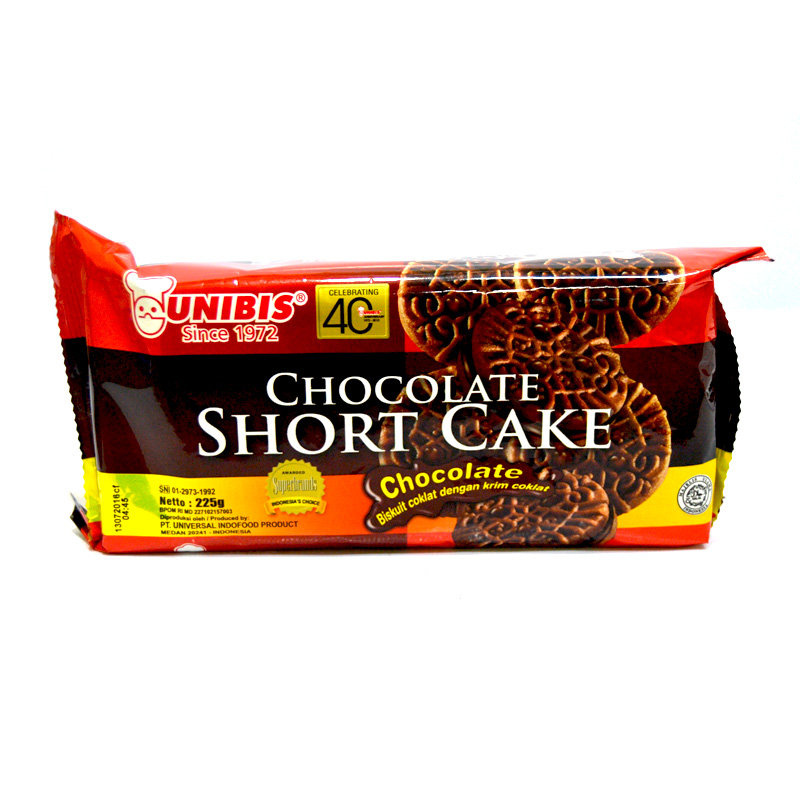 UNIBIS CHOCOLATE SHORT CAKE - CHOCOLATE