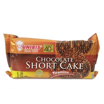 UNIBIS CHOCOLATE SHORT CAKE TIRAMISU