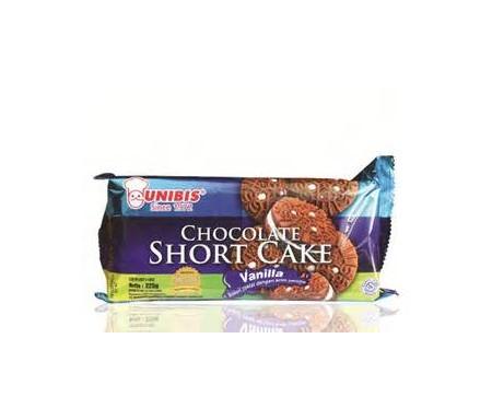 UNIBIS CHOCOLATE SHORT CAKE VANILLA