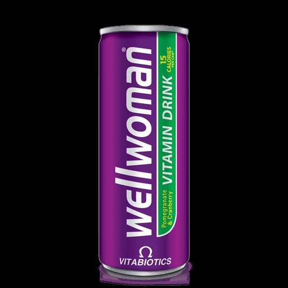 Wallman Pomegrant Cramberry Vitamin Drink