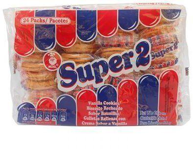 super 2 vanilla cookies