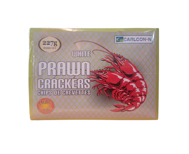 Carlcon n White Prawn Crackers