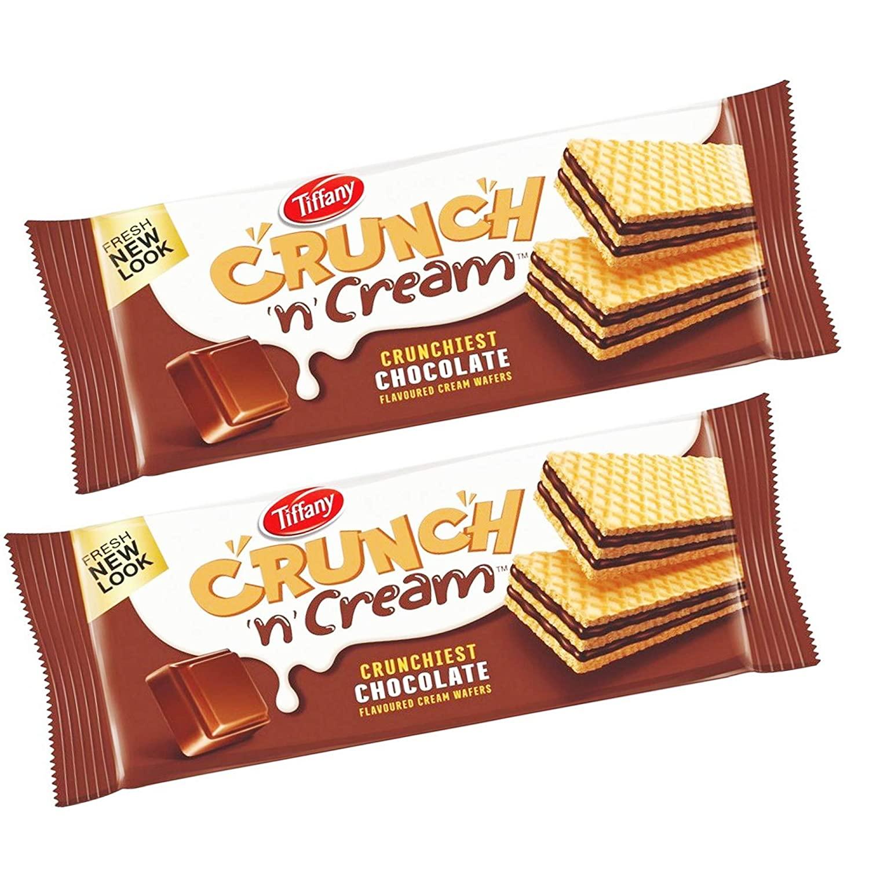Tiffany Crunch n Cream Chocolate Wafers