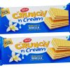Tiffany Crunch n Cream Vanilla Wafers New Look 76g