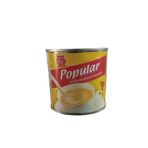 PopularFilledEvaporatedMilk160g